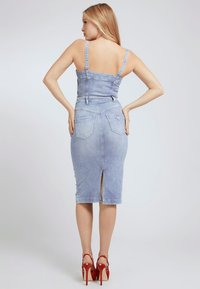 Guess - Denim dress - himmelblau - 1