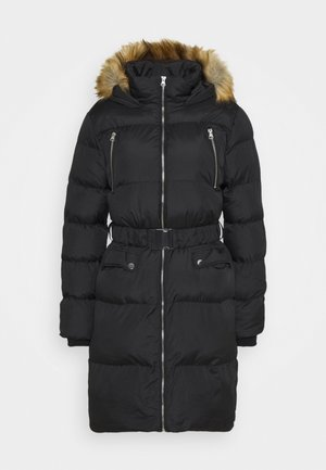 LONGERLINE BACK TO SCHOOL COAT - Zimní kabát - black