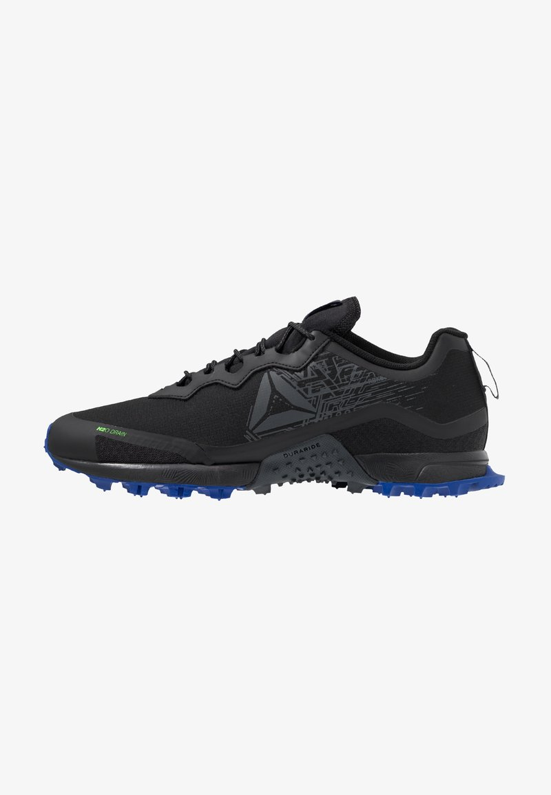 Reebok - ALL TERRAIN CRAZE - Trail running shoes - black/cold grey/cobalt