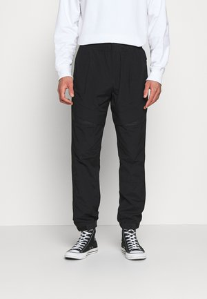 TRACK PANT - Trousers - black