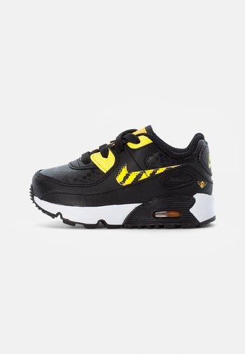 NIKE AIR MAX - Sneakers laag - black/opti yellow-univ gold-citron pulse
