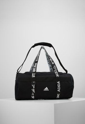 ESSENTIALS 3 STRIPES SPORT DUFFEL BAG - Sportstasker - black/white