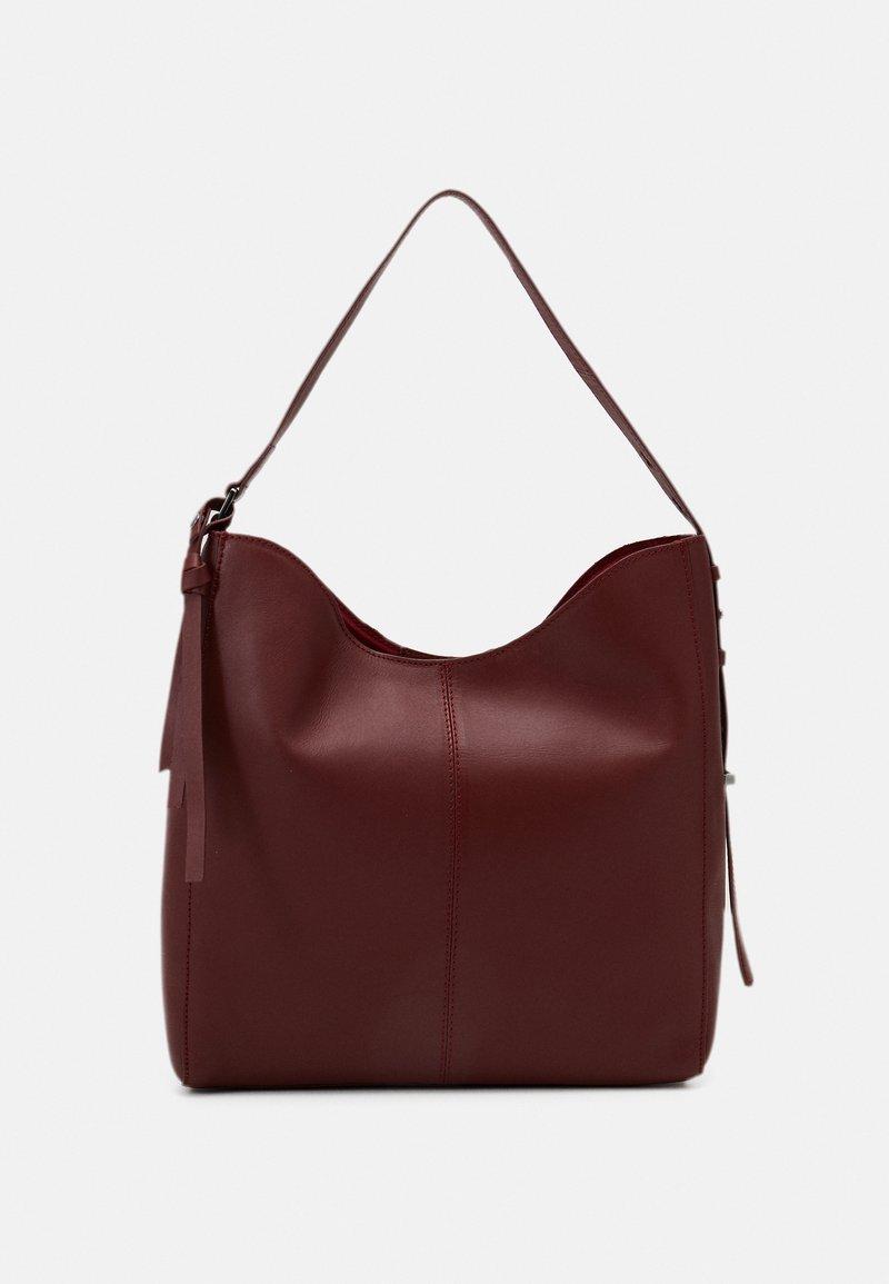 Zign - LEATHER - Handbag - red