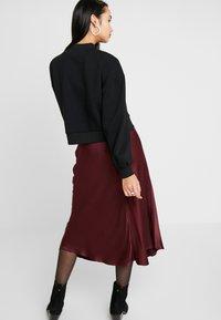 Zign - HIGH COLLAR - Sweater - black - 2