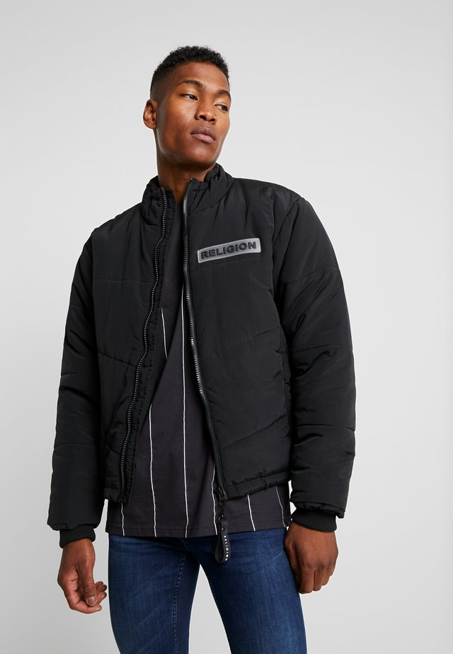 SHIELD JACKET - Overgangsjakker - black