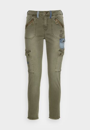 PANT COBAIN - Cargo trousers - green