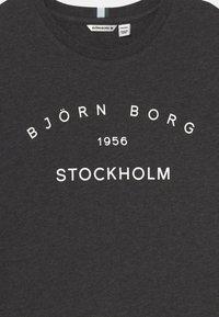Björn Borg - UNISEX - Print T-shirt - anthracite melange - 2