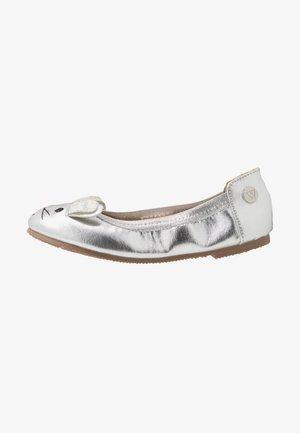 CATIE BUNNY - Ballet pumps - silver