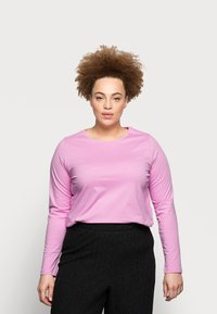 Pieces Curve - PCRIA NEW TEE - Long sleeved top - pastel lavender - 0