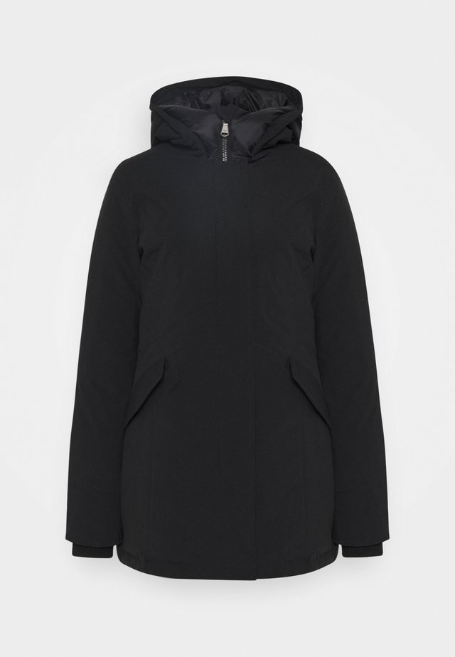 FUNDY BAY TECH HOOD - Piumino - black