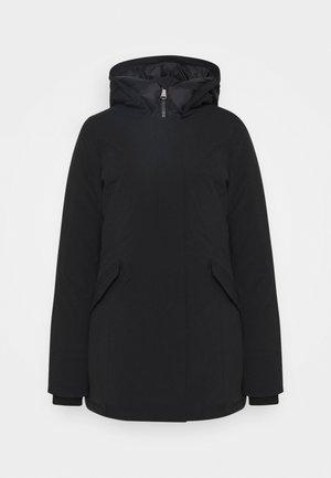 FUNDY BAY TECH HOOD - Down coat - black