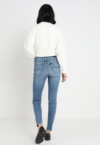 Lee - SCARLETT HIGH - Jeans Skinny Fit - stone blue denim - 2