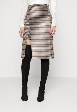 JOSSELIN - Pencil skirt - camel