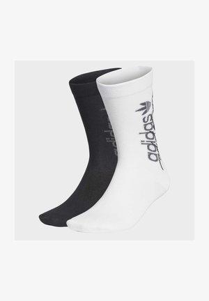 R.Y.V. THIN CREW SOCKS 2 PAIRS - Sports socks - white