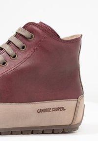 Candice Cooper - PLUS - Sneakers high - tamponato porpora/tamponato stone - 2