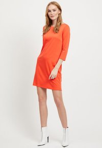 Vila - VITINNY - Day dress - light red - 1