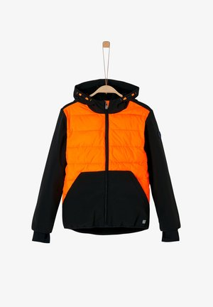 Light jacket - black/orange
