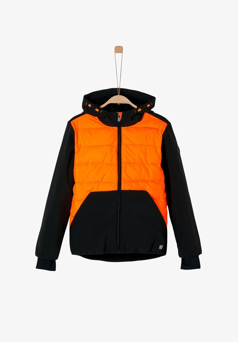 s.Oliver - Light jacket - black/orange