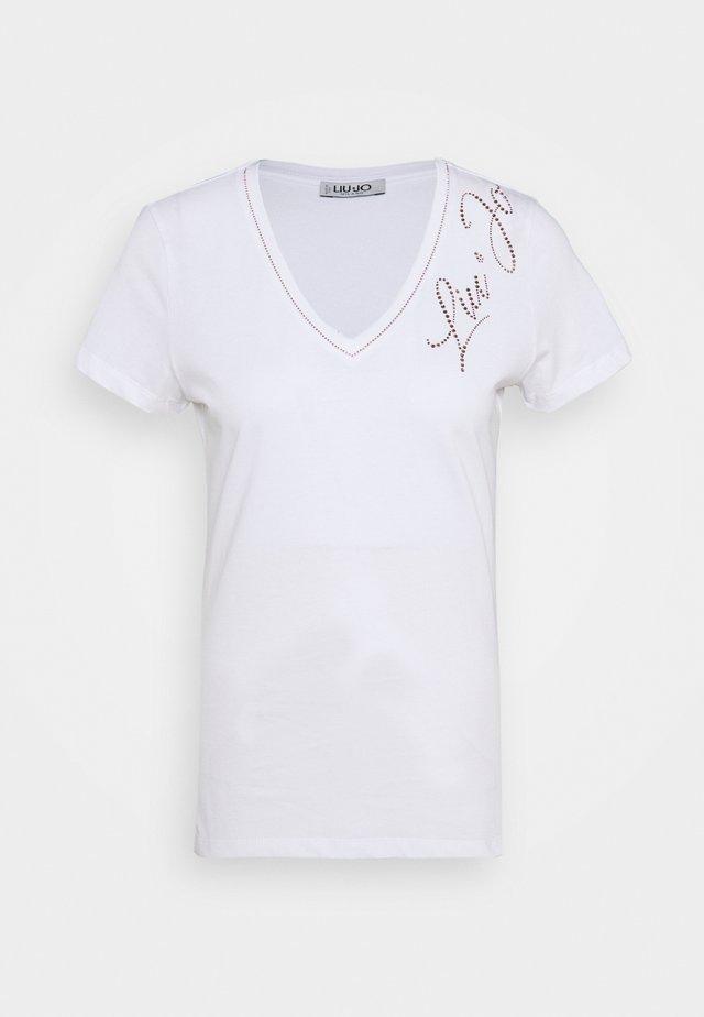 MODA - T-shirts print - bianco ottico