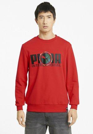 INTERNATIONAL GRAPHIC  - Sweatshirt - high risk red
