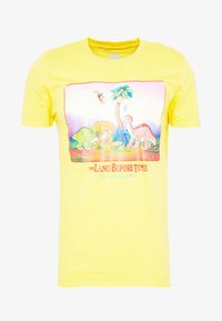 Bioworld - LAND BEFORE TIME TEE - Printtipaita - yellow - 4