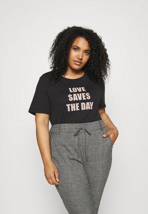 KCLOVEDAY - Print T-shirt - black deep