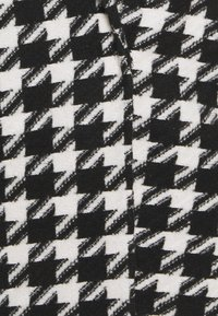 Simply Be - DOGTOOTH COAT - Classic coat - black/white - 2