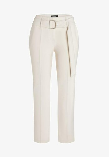 Trousers - summer ivory