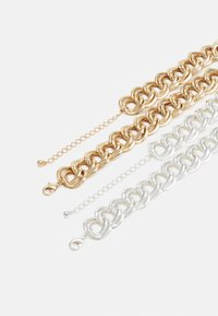 Monki - JENNA NECKLACE 2 PACK - Collana - silver-coloured/gold-coloured - 1