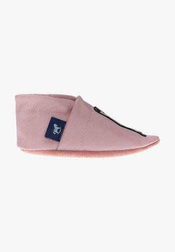 First shoes - rosa / weiß / schwarz