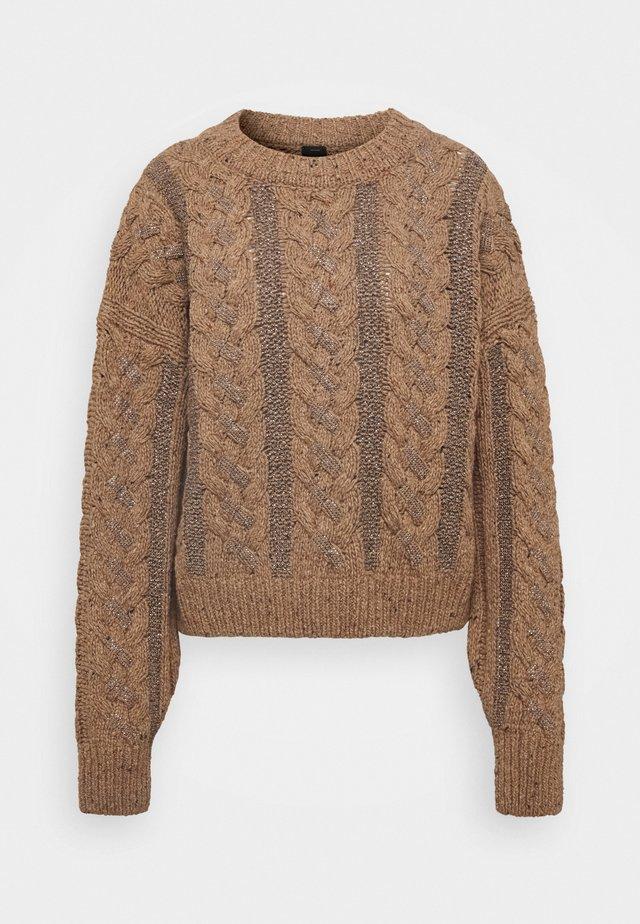 METEORITE - Sweter - bronzo/caldo
