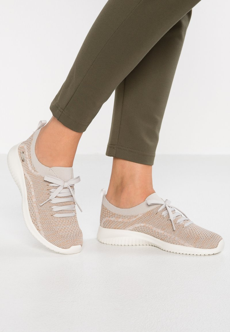 Skechers Sport - ULTRA FLEX - Mocasines - taupe/gold/offwhite