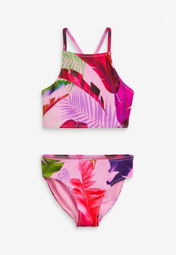 FEATHER PALM - Swimsuit - pink