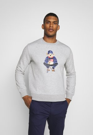 BEAR LONG SLEEVE - Sweatshirt - grey heather