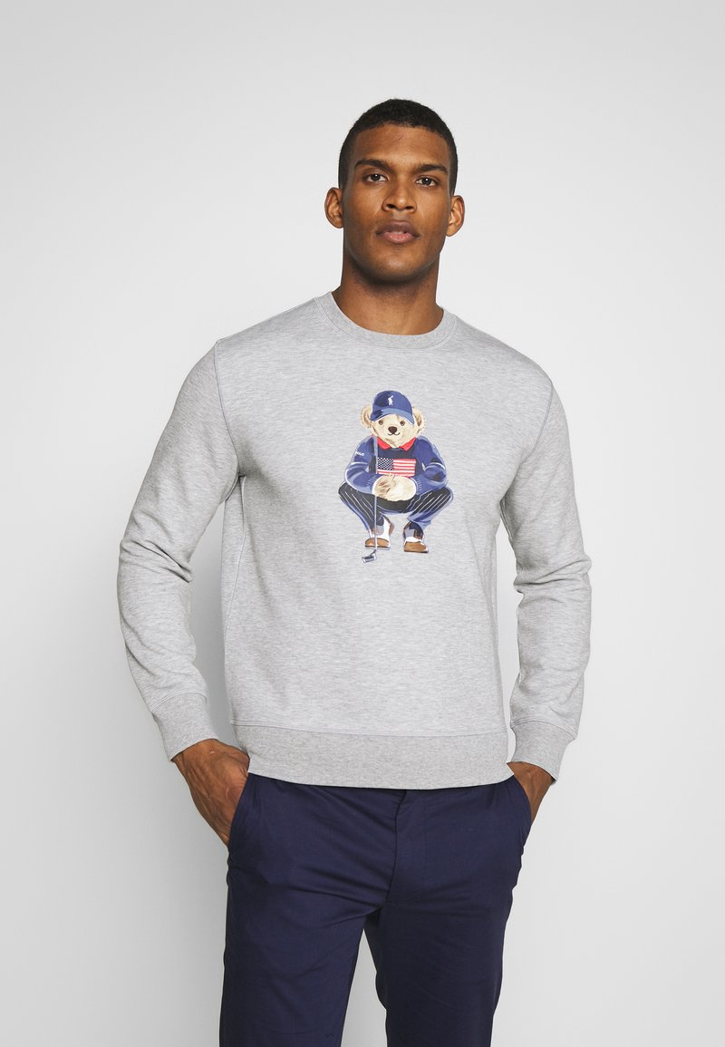 Polo Ralph Lauren Golf - BEAR LONG SLEEVE - Sweatshirt - grey heather