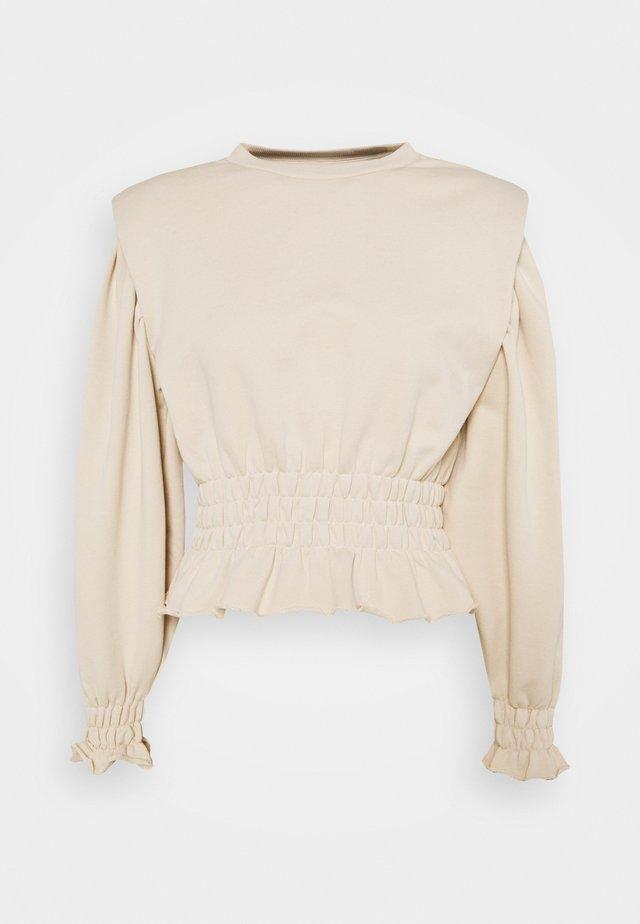 OBJBELLIS  - Sweatshirt - sandshell