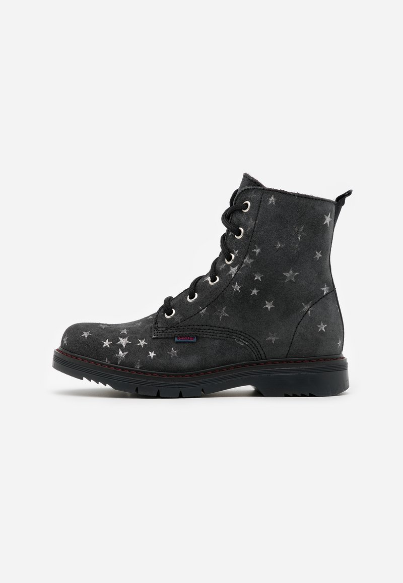 Richter - PRISMA - Lace-up ankle boots - steel