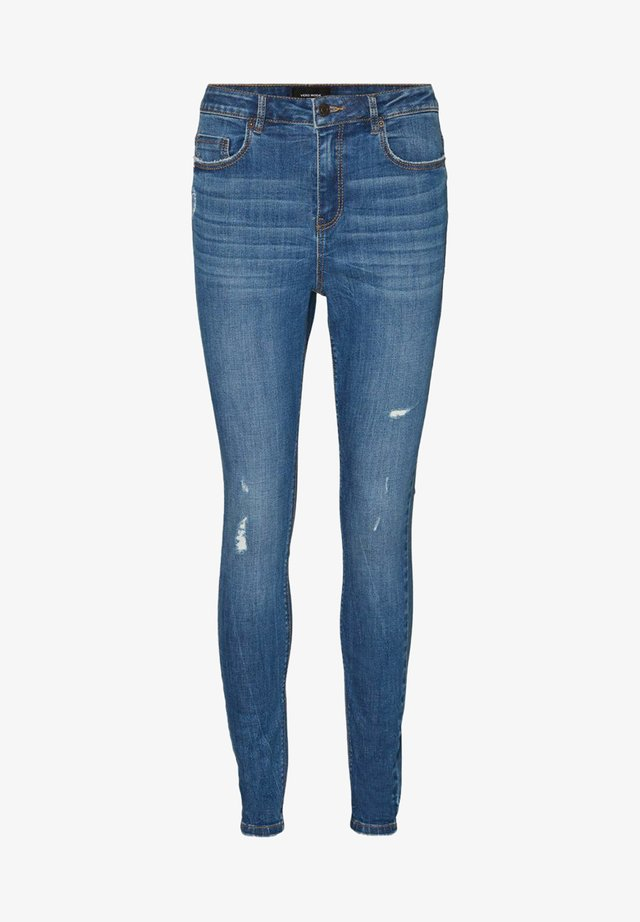 SKINNY JEANS  - Jeans Skinny Fit - medium blue denim