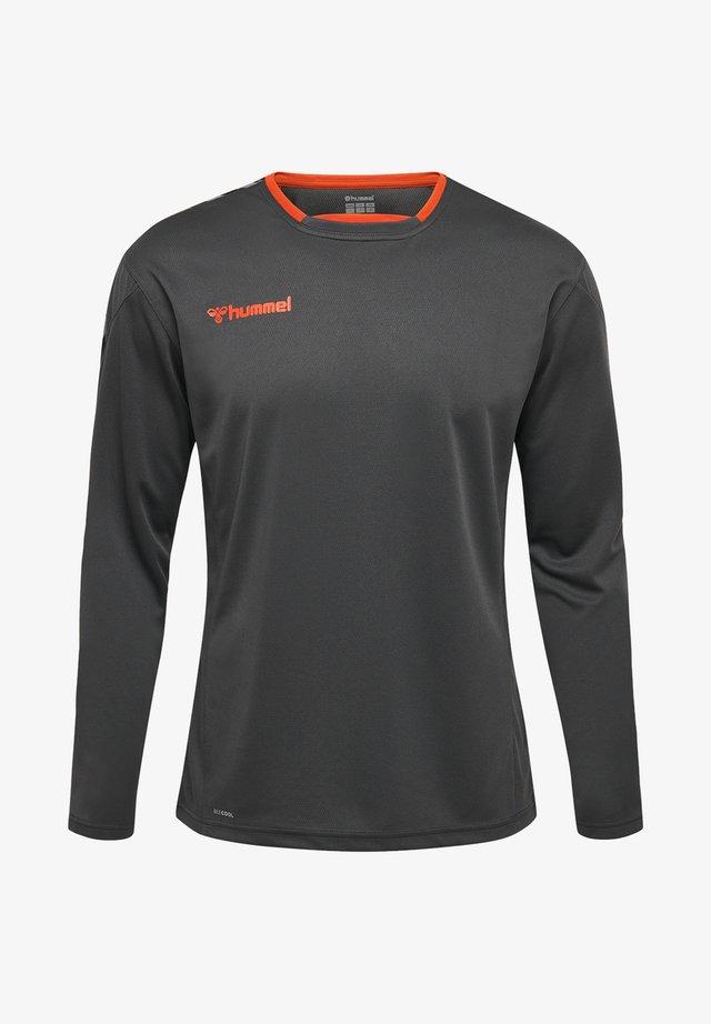 HMLAUTHENTIC - Sports shirt - asphalt