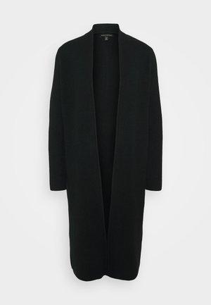 SERENE DUSTER HOOKUP - Cardigan - black