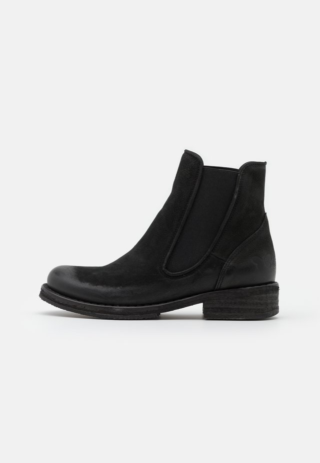COOPER - Classic ankle boots - morat black