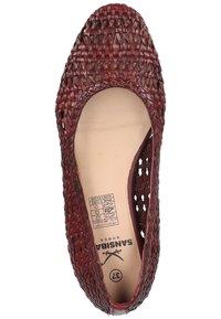 Sansibar Shoes - Ballet pumps - bordeauxrot - 3