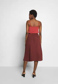 Rosemunde - A-line skirt - chestnut red - 2