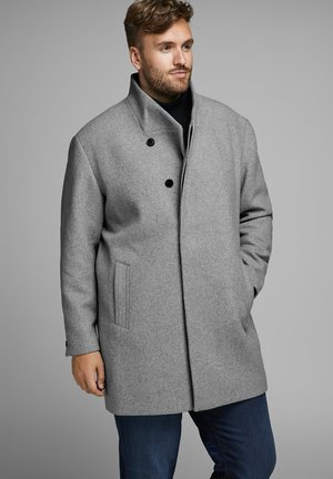 PLUS SIZE MANTEL WOLL- - Manteau court - light grey melange