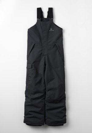 UNISEX - Snow pants - jet black