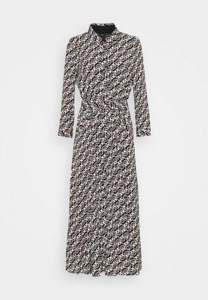 MASK - Maxi dress - nero/beige/bianco