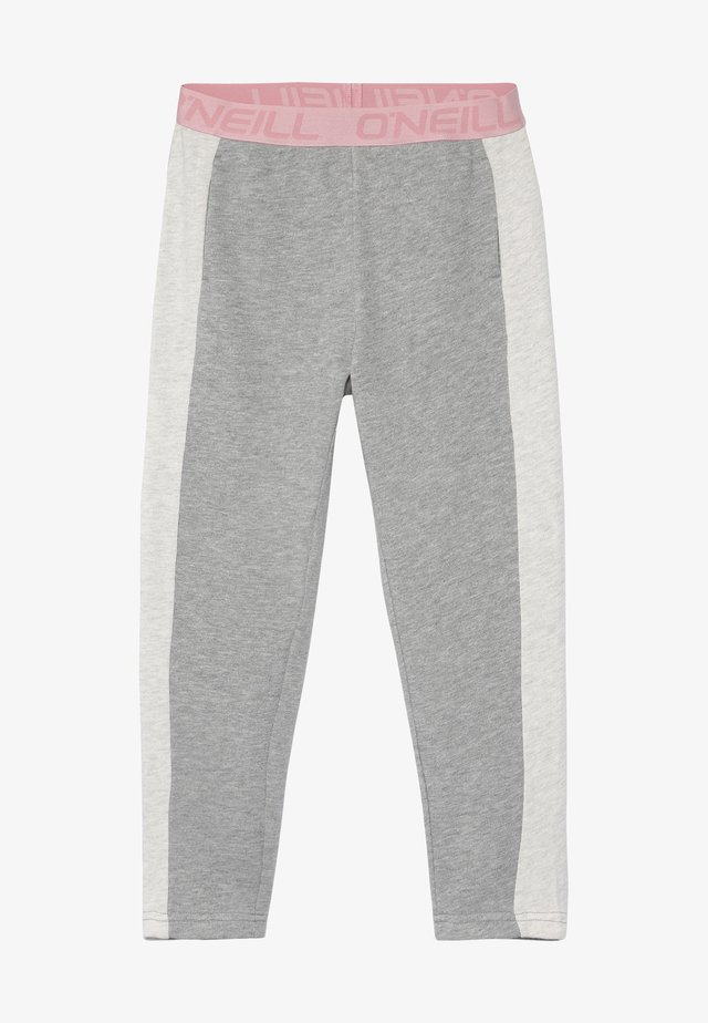Trousers - silver melee