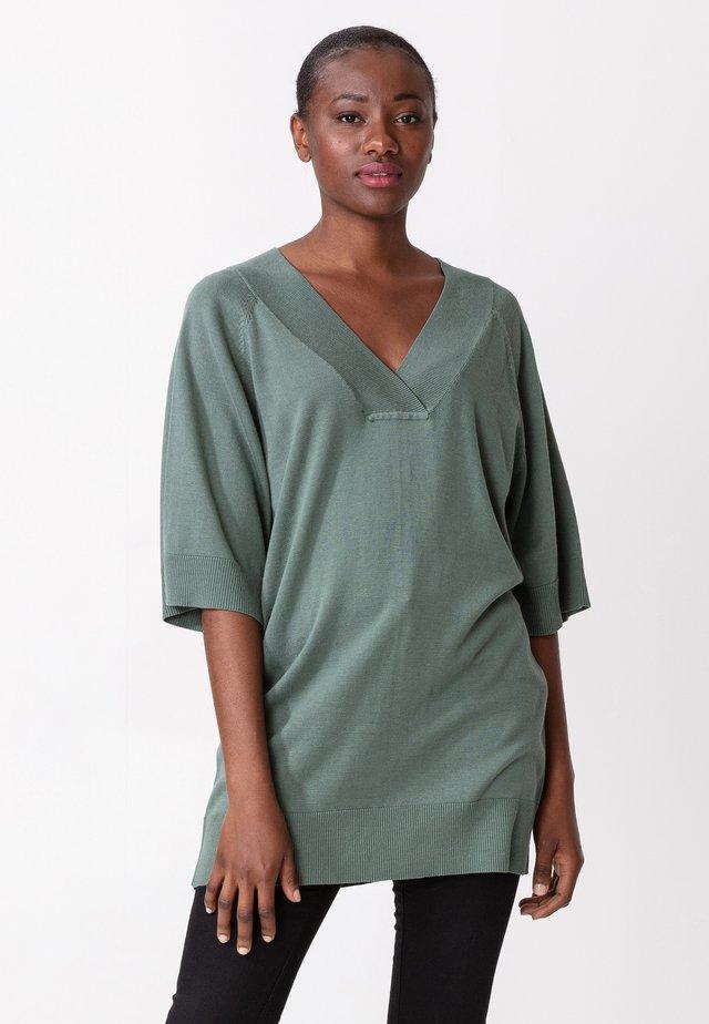 OPAL - Abito in maglia - green