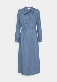 Vila - VIBASTA MAXI DRESS - Denim dress - medium blue denim - 0