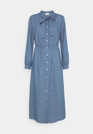 VIBASTA MAXI DRESS - Denim dress - medium blue denim